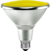 Yellow LED - PAR38 - 15 Watt - 90W Equal - 40 Deg. Flood - Wet Location
