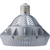 5498 Lumens - 52 Watt - LED HID Retrofit - 175W Metal Halide Equal - 4200 Kelvin - Mogul Base - Universal Mount - Operates by Bypassing Existing Ballast