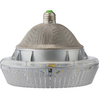 6684 Lumens - 60 Watt - LED HID Retrofit - 175W Metal Halide Equal - 4200 Kelvin - Medium Base - Universal Mount - Operates by Bypassing Existing Ballast