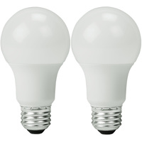 LED - A19 - 8.5 Watt - 60W Incandescent Equal - 800 Lumens - 2700 Kelvin Warm White - 2 Pack