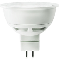 500 Lumens - 2700 Kelvin - LED MR16 - 6.5 Watt - 50W Equal - 38 Deg. Flood - CRI 80 - Dimmable - 12V - GU5.3 Base - Euri Lighting EM16-2020ew