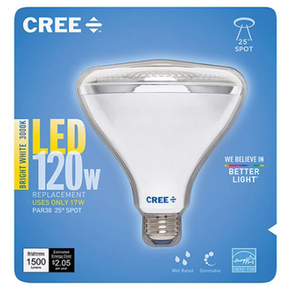 LED - PAR38 - 17 Watt - 1500 Lumens Image