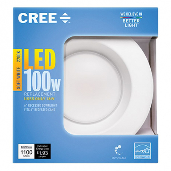 6 in. Retrofit LED Downlight - 16W Image