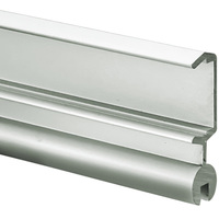 3.28 ft. Anodized Aluminum POLI Channel - For LED Tape Light and Strip Light - Lens Sold Separately - Klus B7176ANODA_1