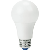 LED - A19 - 9 Watt - 60W Incandescent Equal - 820 Lumens - 3000 Kelvin Halogen White - Omni-Directional - 120-277V