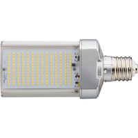 5946 Lumens - 50 Watt - LED Wall Pack Retrofit Lamp - 175W MH Equal - 4000 Kelvin - DLC Listed - Mogul Base - Horizontal Mount - Operates by Bypassing Existing Ballast - 120-277V - 5 Year Warranty