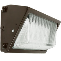 LED Wall Pack - 37 Watt - 3000 Lumens - 5000 Kelvin - Replaces 100 Watt Metal Halide - Integrated Photocell - 120-277 Volt - AC Electronics AC106/35/1.0L