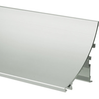 3.28 ft. Anodized Aluminum WERKIN Channel - For LED Tape Light and Strip Light - Lens Sold Separately - Klus 18025ANODA_1