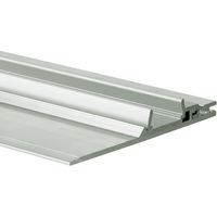 3.28 ft. Non-Anodized Aluminum NISA-PLA Channel - For LED Tape Light and Strip Light - Lens Sold Separately - Klus 18028NA_1
