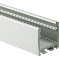 3.28 ft. Anodized Aluminum PDS ZM Channel - For LED Tape Light and Strip Light - Lens Sold Separately - Klus B7696ANODA_1
