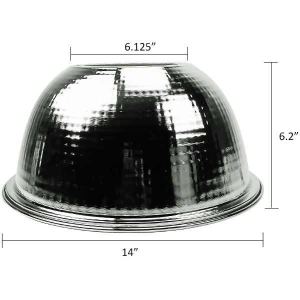 14 in. Aluminum Reflector Image
