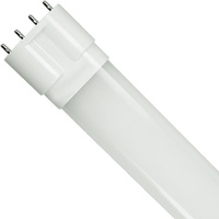 LED PL-L Lamp - 4 Pin 2G11 Base - 15 Watt - 1200 Lumens - 4000 Kelvin Replaces 36W CFL - Ballast Bypass - 120-277 Volt - PLT-10774
