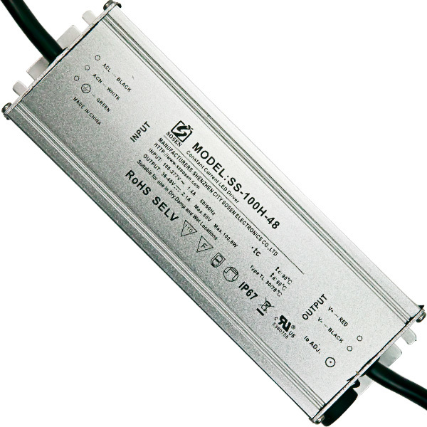 LED Driver - 100 Watt - 2100mA Output Current Image