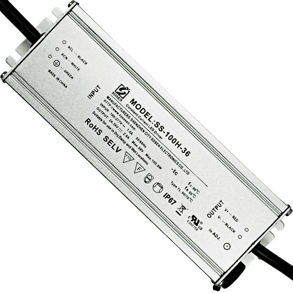 LED Driver - Operates up to 100 Watts - 24-36V Output Image