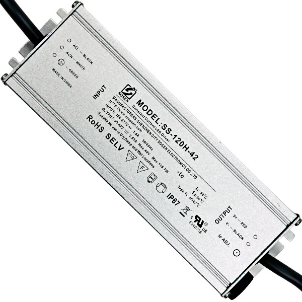 LED Driver - 120 Watt - 2850mA Output Current Image