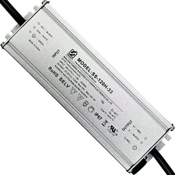 LED Driver - 120 Watt - 3600mA Output Current Image