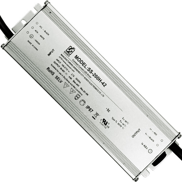 LED Driver - 200 Watt - 4800mA Output Current Image