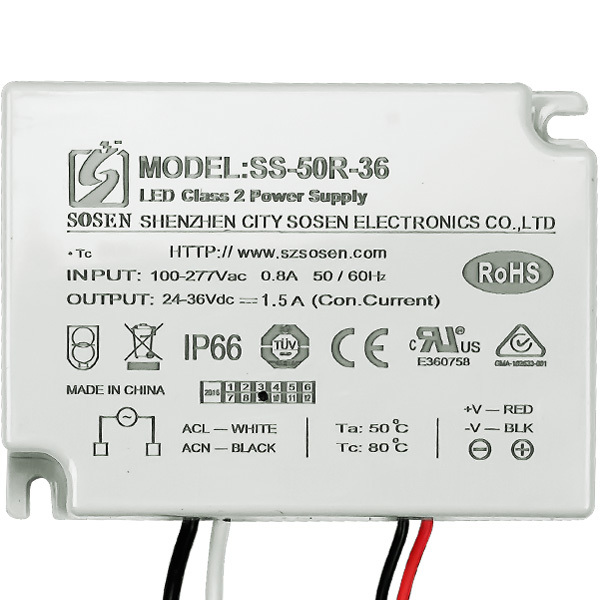 LED Driver - 50 Watt - 1500mA Output Current Image