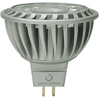 580 Lumens - 3000 Kelvin - LED MR16 - 8.5 Watt - 75W Equal - 25 Deg. Narrow Flood - Color Corrected CRI 92 - Dimmable - 12V - GU5.3 Base