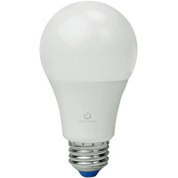 LED - A19 - 9 Watt - 60W Incandescent Equal - 820 Lumens - 3000 Kelvin Halogen White - Omni-Directional - 120V
