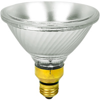 90 Watt Equal - PAR38 - Uses 70 Watts - Narrow Spot - Halogen - 1500 Life Hours - 1380 Lumens - 120 Volt