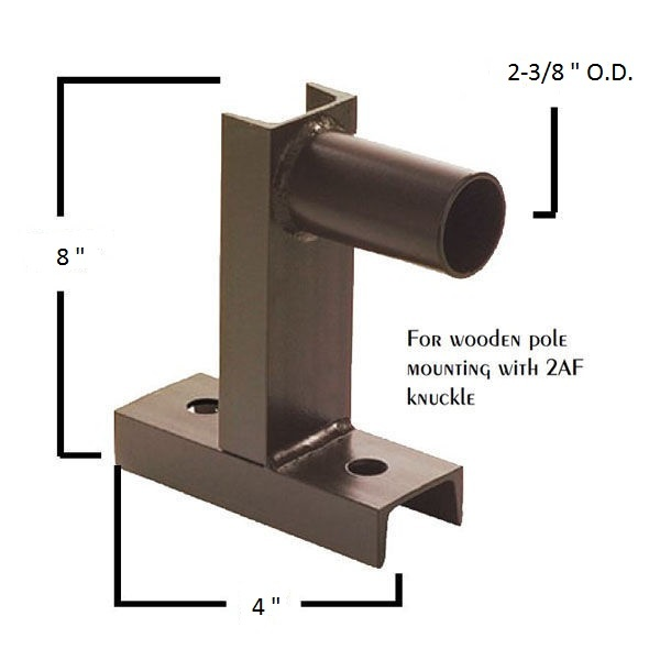 2 3/8 in. Outside Diameter Vertical Tenon Image