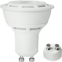 400 Lumens - 3000 Kelvin - LED - PAR16 - 6 Watt - 50W Equal - 38 Deg. Flood - CRI 91 - GU10 Base - Euri Lighting EP16-2000ew