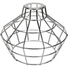 Light Bulb Cage, Large Basket Style, Polished Nickel