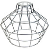 Light Bulb Cage, Large Basket Style, Galvanized