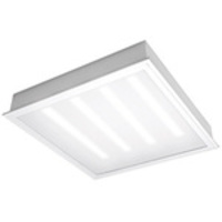 2000 Lumens - 2 x 2 LED Recessed Troffer - 25 Watt - 3500 Kelvin - Prismatic Acrylic Lens - 120-277V - 5 Year Warranty