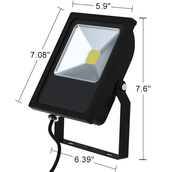 Mini LED Flood Light Fixture - Wall Washer - 20 Watt Image