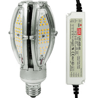 3300 Lumens - 30 Watt - LED Corn Bulb - 100W Metal Halide Equal - 4000 Kelvin - Medium Base - 120-277V - 5 Year Warranty