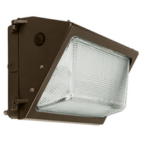 5700 Lumens - LED Wall Pack - 60 Watt - 250W MH Equal - 5000 Kelvin - 120-277V - PLT E1212