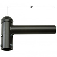 Single Spoke Tenon Bracket - Extends 12 inches - For use with 2-3/8 in. Inside Diameter Slipfitters