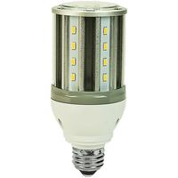 2200 Lumens - 18 Watt - LED Corn Bulb - 70W Metal Halide Equal - 5000 Kelvin - Medium Base - 120-277V - 5 Year Warranty