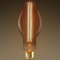 LED BT23 Bulb - Color Matched For Incandescent Replacement - Tinted - 8 Watt - 60W Equal - 700 Lumens - PLT KBT231XLVGO30K