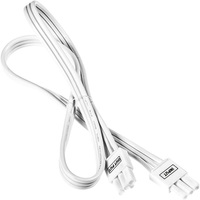 24 in. Length - Linkable Cable - White - For Kobi LED Under Cabinet Fixtures - Kobi K6M6