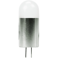10W Halogen Equal - Bi-Pin Bulb - 120 Degree Beam Angle - 12-30 Volt DC Only - 30,000 Life Hours