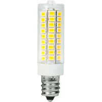 T3 LED - 4.5W - 500 Lumens - 20W Halogen Equal - 3000 Kelvin - 300 Degree Beam Angle - Candelabra Base - 120 Volt AC Only