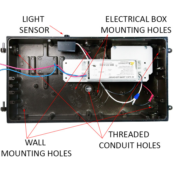 LED Wall Pack with Photocell - 65 Watt Image