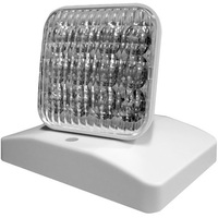 LED Remote Lamp Head - For Use with CLED, VLED or LED-90 Emergency Lighting Units - White - Exitronix MLED1-W