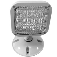 LED Remote Lamp Head - For Use with CLED, VLED or LED-90 Emergency Lighting Units - Weatherproof - Gray - Exitronix MLED1-G-WP