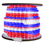 1/2 in. - Incandescent - Red, White, Blue - Rope Light Image