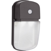 1414 Lumens - LED - Wall Pack with Photocell - 22.8 Watt - 4000 Kelvin - 120 Volt - Lithonia OLWPLEDP140K120PEBZ