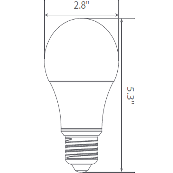 LED - A21 - 17 Watt - 100W Incandescent Equal Image