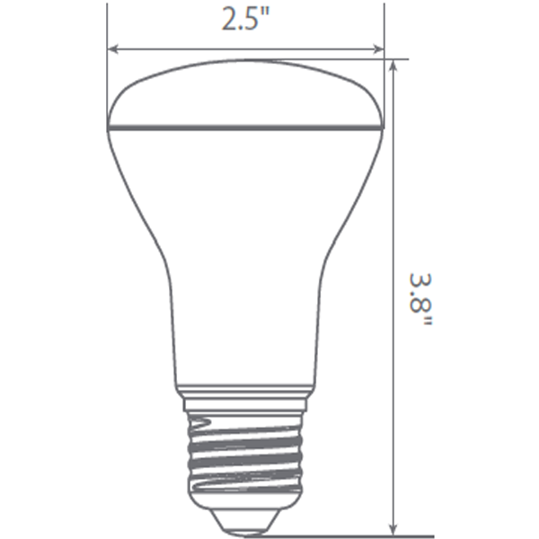 LED R20 - 7 Watt - 525 Lumens Image