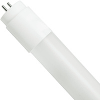 4 ft. T8 LED Tube - 1650 Lumens - 12.5 Watt - 3500 Kelvin - 120-277V - Ballast Must Be Bypassed - Single-Ended Power Must Use a Non-Shunted Socket - Case of 16 - LifeBulb LBP8F1735B-CS