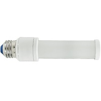 LED PL Lamp - 6 Watt - Screw Base - 17W CFL Replacement - 500 Lumens - 4000 Kelvin - Horizontal Mount Only -  Ballast Must Be Removed