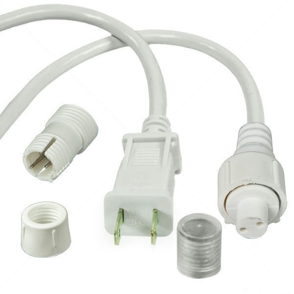 3/8 in. - 120 Volt - Incandescent - Rope Light Connector Kit Image