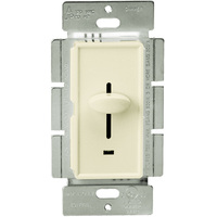 Light Almond - Incandescent/ Halogen Dimmer - 3-Way - Slide Switch - 700Watt Max